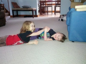 My friend's daughters, they've had whooping cough for 2 weeks.